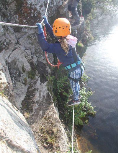 Climbing challenge Cornwall