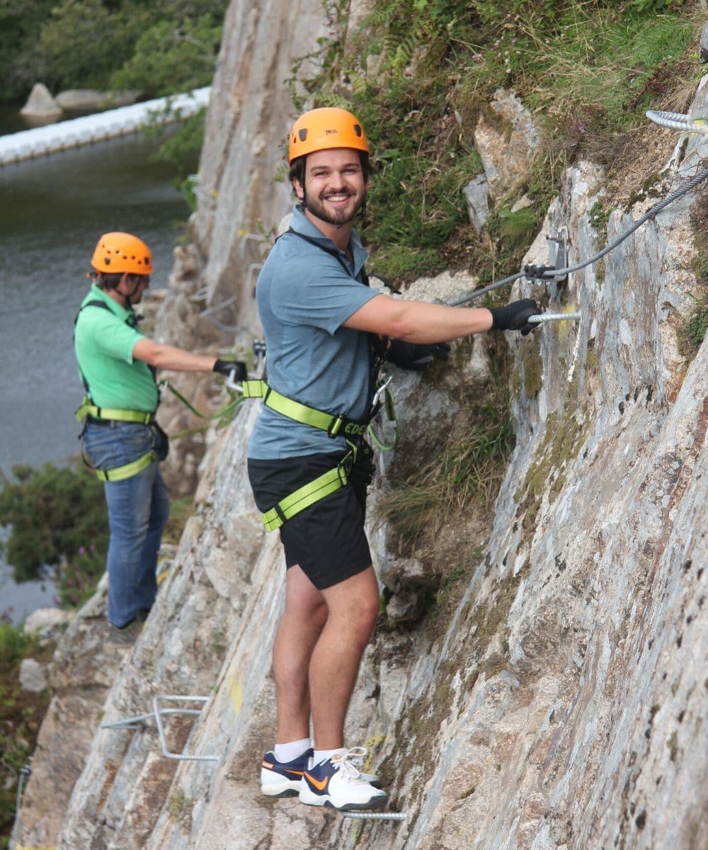 Climbing Via Ferrata Cornwall