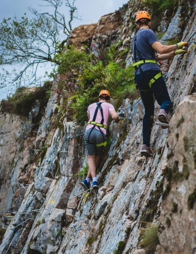 Outdoor climbing in Cornwall