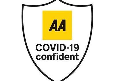 AA Covid Confident Logo