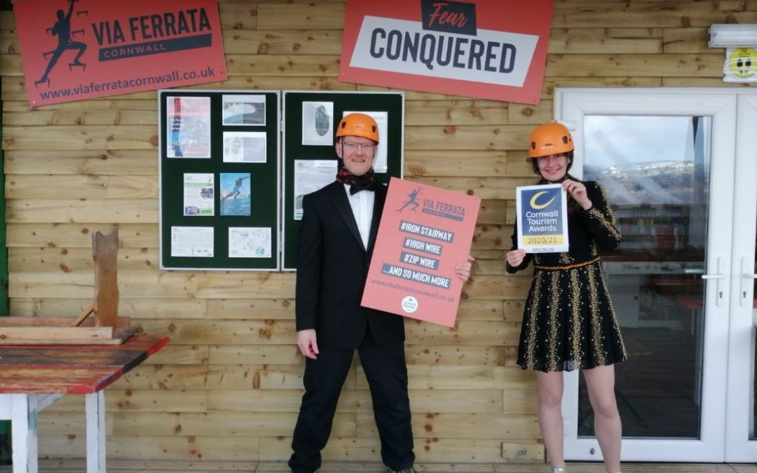 We're a Cornwall Tourism Award winner!