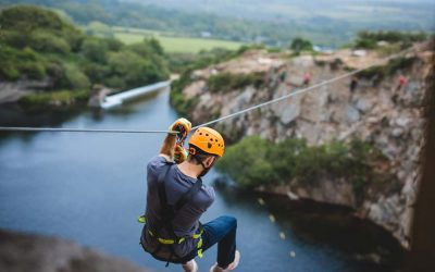 The most rewarding zip wire in Cornwall