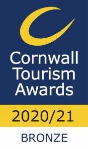 Cornwall Tourism Award Winner - Bronze